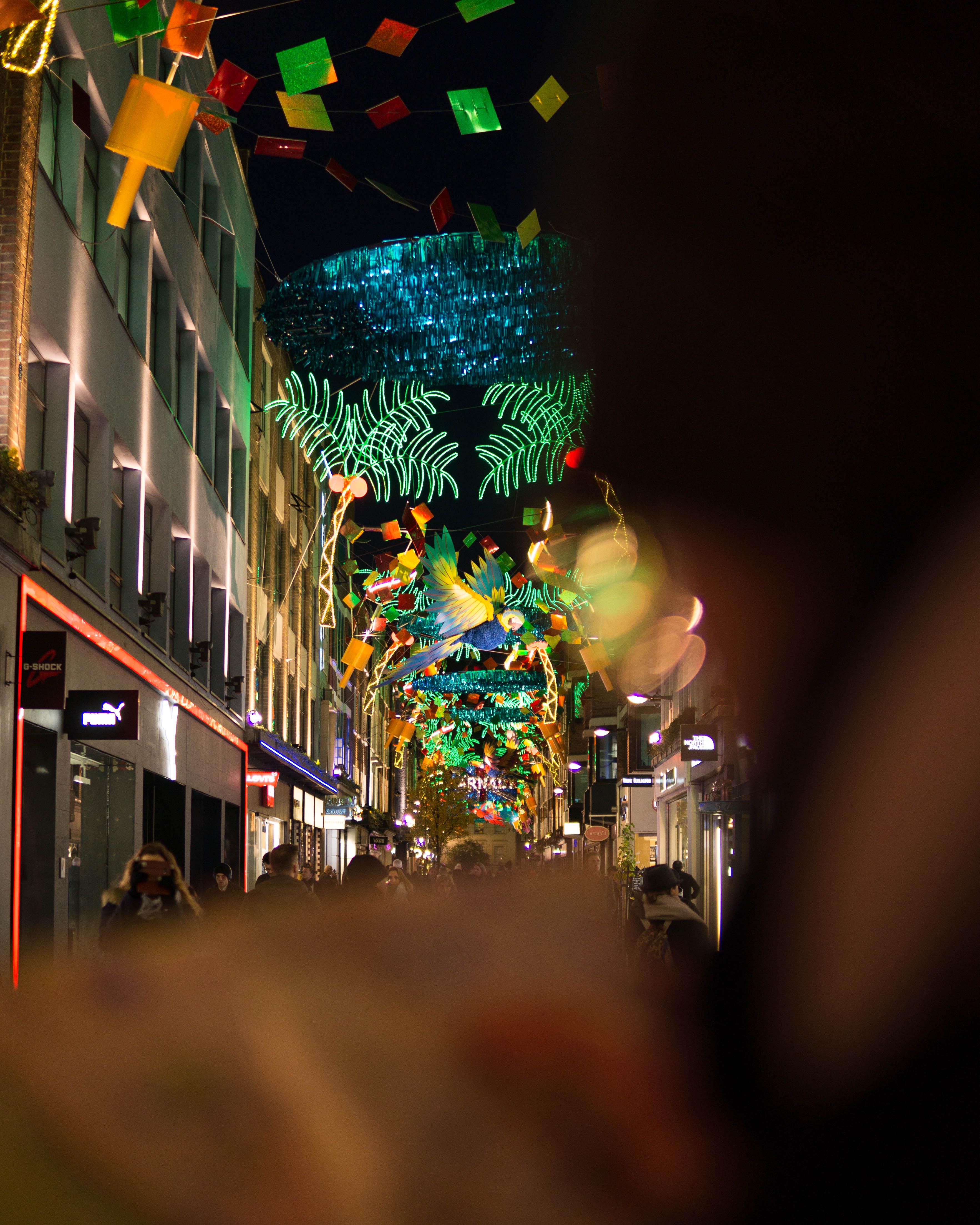 London Christmas Lights Walk What If We Walked